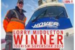 Congratulations to Lorry, winner of Tourism Superstar 2020!